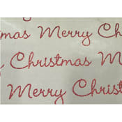 Julpapper Merry Christmas 0,7x2m ICA Home