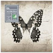 Servett Butterfly Beige 33cm ICA Home