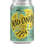 Öl The Mad Canary IPA 3,5% 330ml Brutal Brewing