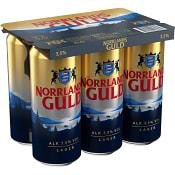 Öl 3,5% 50cl 6-p Norrlands Guld