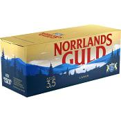 Öl 3,5% 33cl 10-p Norrlands Guld