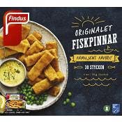 Fiskpinnar Fryst 30-p 750g Findus
