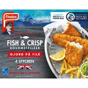 Fish & crisp gourmetfil 480 g Findus