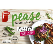 Pease Pulled Chili & vitlök Vegansk Fryst 250g Findus