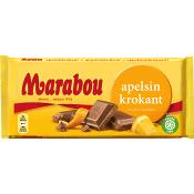 Chokladkaka Apelsinkrokant 200g Marabou