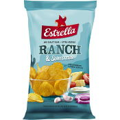 Chips Ranch & sourcream 275g Estrella