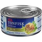 Tonfisk i olja 185g ICA