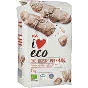 Vetemjöl 2kg KRAV ICA I love eco