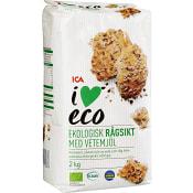 Rågsikt med vetemjöl 2kg KRAV ICA I love eco