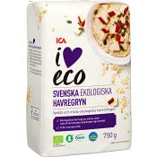 Havregryn 750g KRAV ICA I love eco