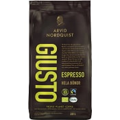 Espresso Giusto Hela bönor 500g KRAV Arvid Nordquist
