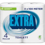 Extra Toalettpapper 4-p Miljömärkt Edet