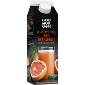 Red grapefruit juice 1l God Morgon