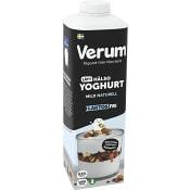 Hälsoyoghurt Mild Naturell Laktosfri 0,5% 1000g Verum