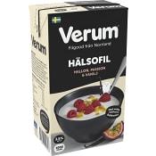 Hälsofil Hallon passion & vanilj 3,5% 1000g Verum