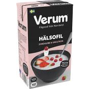 Hälsofil Jordgubb & smultron 3,5% 1000g Verum