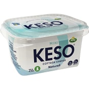Cottage cheese Mini 1,5% 250g Keso
