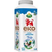 Lättmjölk 0,5% 3dl KRAV Arla Ko