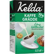 Kaffegrädde 10% 2,5dl Kelda