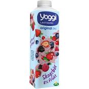 Skogsbär 2% Laktosfri 1l Yoggi