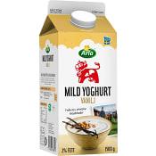 Yoghurt Mild Vanilj 2% 1500g Arla Ko