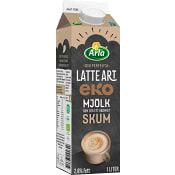 Latte Art Ekologisk 2,6% 1L Arla