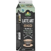 Latte Art Ekologisk 0,9% 1L Arla