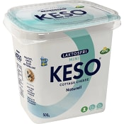 Cottage Cheese Mini Naturell Laktosfri 1.5% 500g Keso