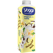 Yoghurt Madagaskar vanilj Laktosfri 2% 1000g Yoggi