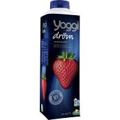 Yoghurt Jordgubb dröm 5% 1l Yoggi