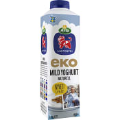 Yoghurt Naturell Laktosfri 3,0% Ekologisk 1000g Arla Ko