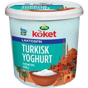 Turkisk Yoghurt 10% Laktosfri 1000g Arla Köket