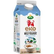 Yoghurt Mild Naturell Ekologisk 1,5l Arla