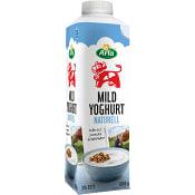 Mild yoghurt Naturell 3% 1000g Arla