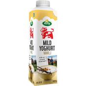 Mild yoghurt Vanilj 2% 1000g Arla