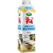 Mild yoghurt Vanilj Mindre socker 1,5% 1000g Arla