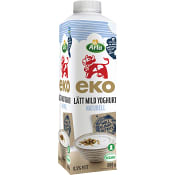 Lättyoghurt Mild Naturell Ekologisk 0,5% 1000g Arla