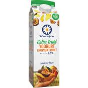 Yoghurt Tropisk 2,4% 1l Skånemejeri