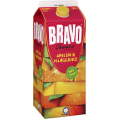 Juice Apelsin & mango 2l Bravo