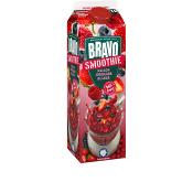 Smoothie Hallon, jordgubb & blåbär 1l Bravo