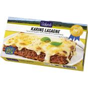 Karins lasagne Måltid Fryst 390g  Familjen Dafgård