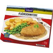 Fläskschnitzel Måltid Fryst 420g  Familjen Dafgård