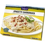 Färdigmat Spagetti carbonara Fryst 390g Dafgård