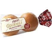 Hamburgerbröd Brioche Gourmet 4-p 320g Pågen