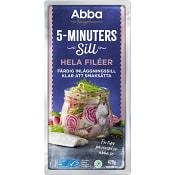 5-minuterssill Hela filéer 420g Abba
