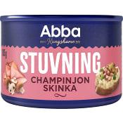Stuvning Champinjoner & skinka 185g Abba