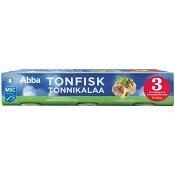 Tonfisk i olja 3-p 285g Abba