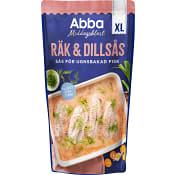 Räk & dillsås XL 375g Abba