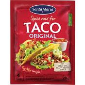 Taco spice mix Orginal 28g Santa Maria