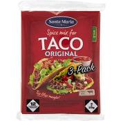 Taco spice mix Orginal 28g 3-p Santa Maria